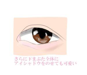涙袋のメイク