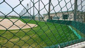 大阪・泉佐野公園の野球場