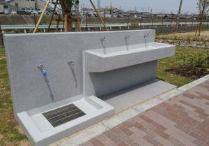 泉佐野南部公園の手洗い場