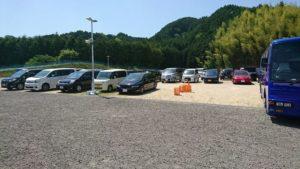いずみ小川いちご農園の駐車場