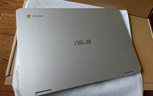 ASUS 12.5インチノートPCクロームブック Flip C302CA