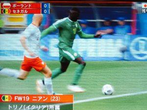 ワールドカップセネガル戦