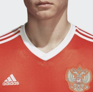 ワールドカップ・ロシアユニフォーム