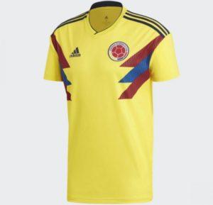 ワールドカップ・コロンビアユニフォーム