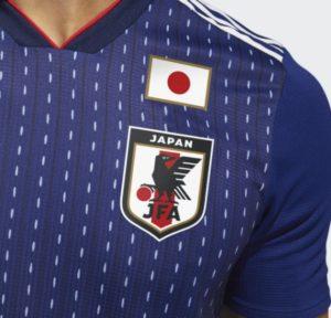 ワールドカップ・日本のユニフォーム