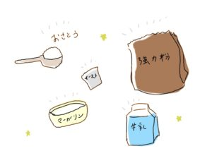 初心者のパン作り