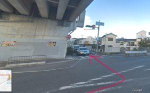 電車で岸和田城のアクセス