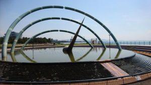 りんくう公園の噴水
