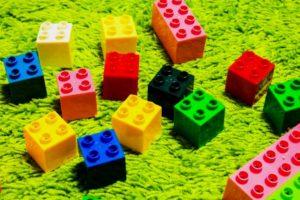 ブロックの玩具